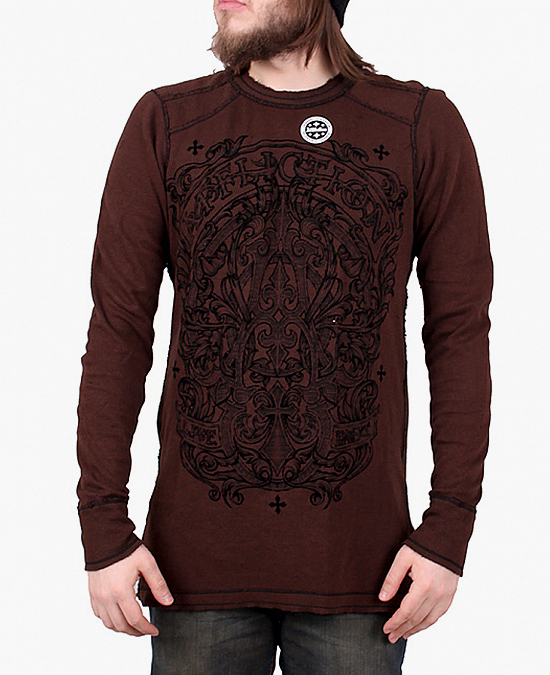 Affliction Gate Of Life Thermal Tee/футболка мужская