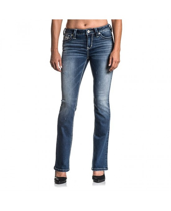 Affliction Women Jade Standard Jeans/джинсы женские