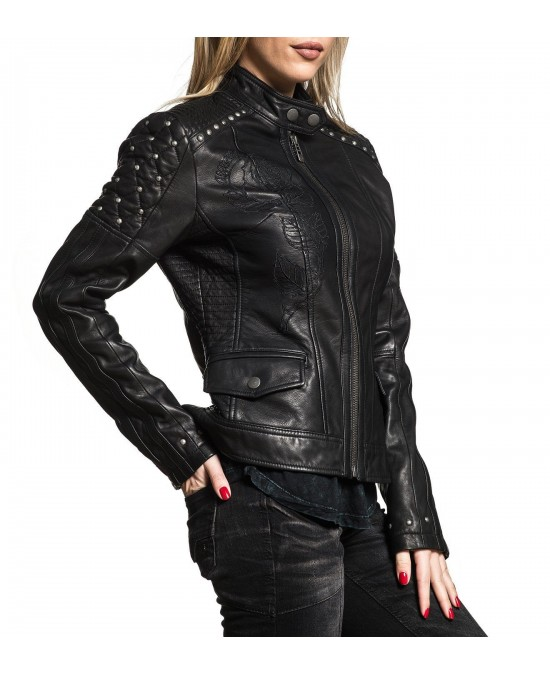 Affliction Women Loves Me Not Jacket