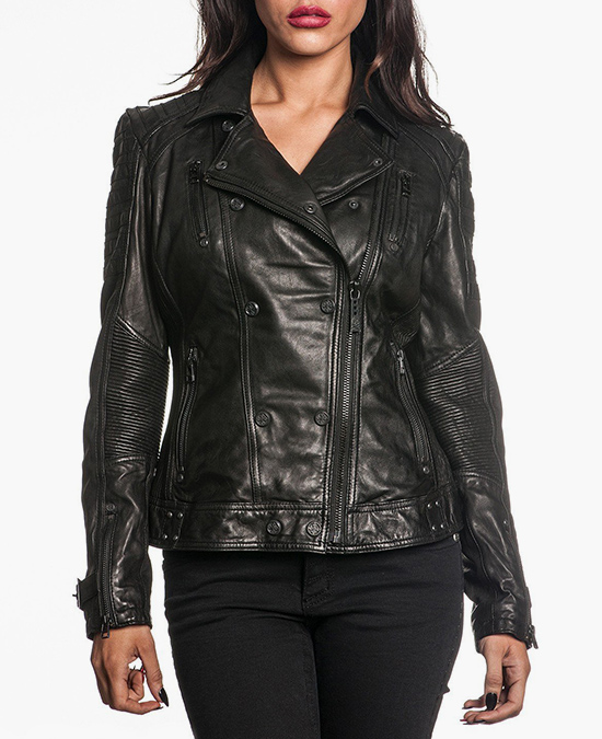 Affliction Women Live Fast Jacket