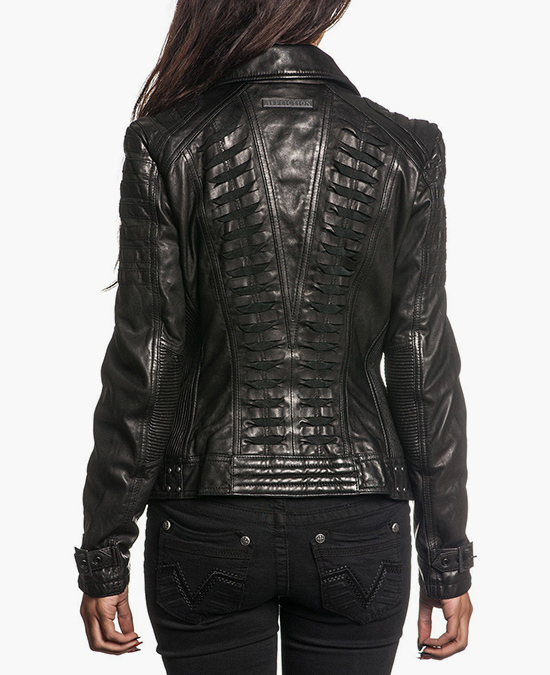 Affliction Women Live Fast Jacket