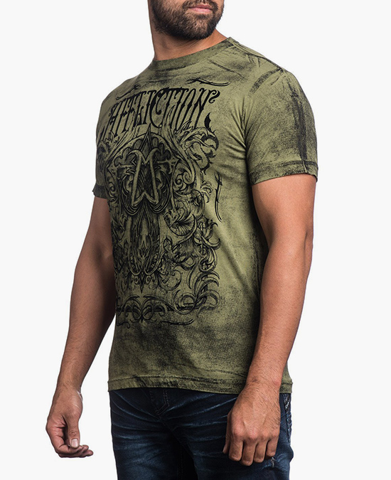 Affliction Cast Into S/S Tee/футболка мужская