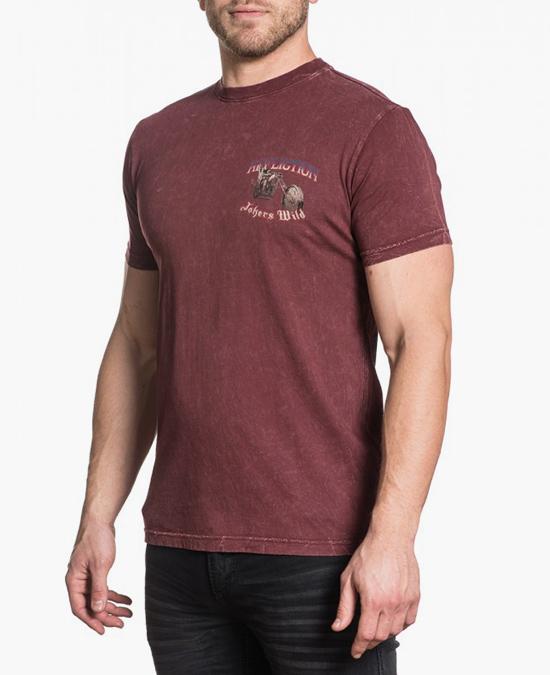 Affliction Jockers Wild S/S Tee/футболка мужская