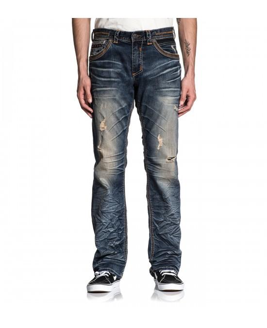 Affliction Blake Fleur Rouge Jeans
