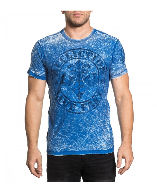 Affliction Trademark Customs S/S Rev. Tee/футболка мужская