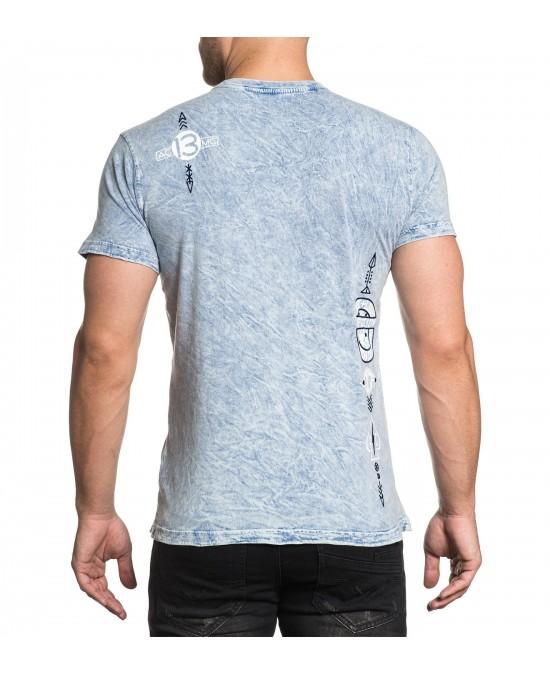 Affliction Trademark Customs S/S Rev. Tee/футболка мужская