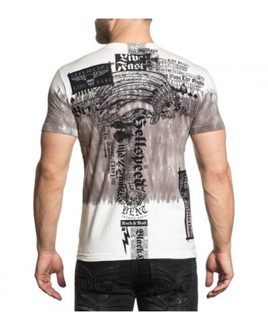 Affliction Damage Case S/S Tee/футболка мужская