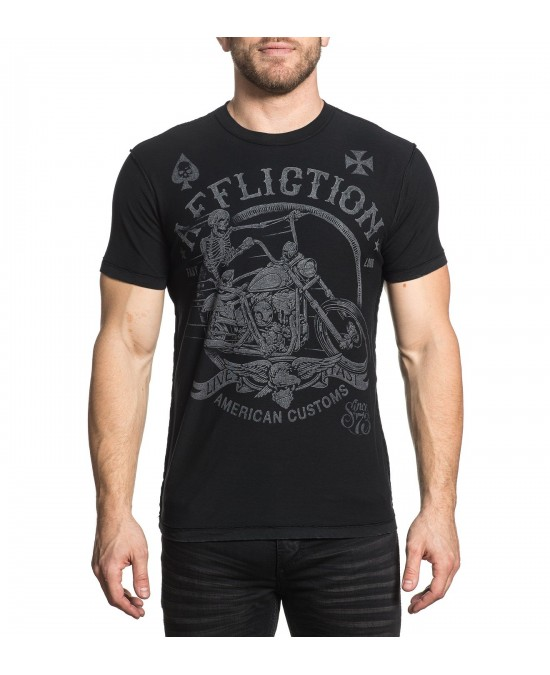 Affliction Full Moon S/S Rev. Tee/футболка мужская