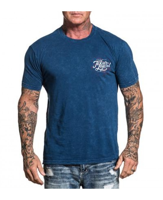 Affliction CK Texas Legend S/S Tee/футболка мужская