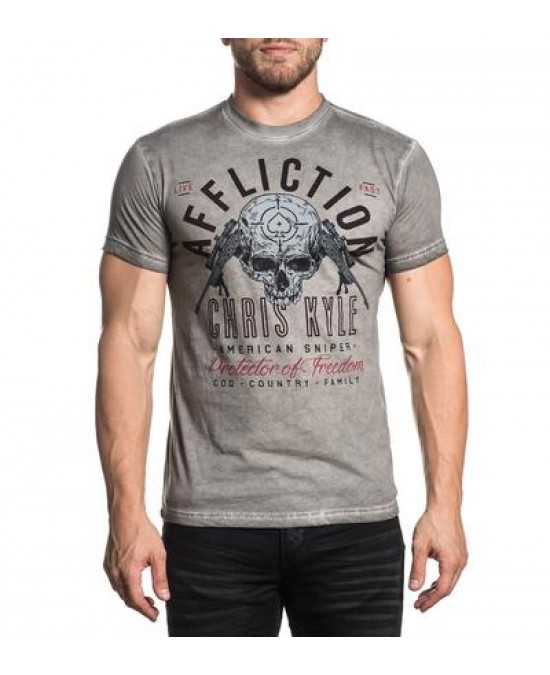 Affliction CK Breathless S/S Tee/футболка мужская