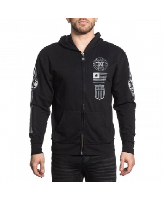 Affliction Bravenet Zip Hood
