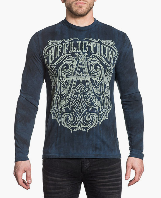 Affliction Causeway L/S Tee