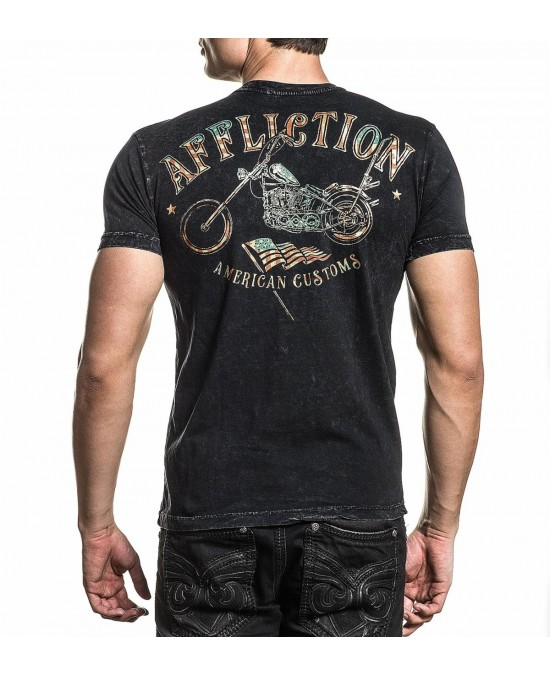 Affliction AC Last Ride S/S Tee/футболка мужская