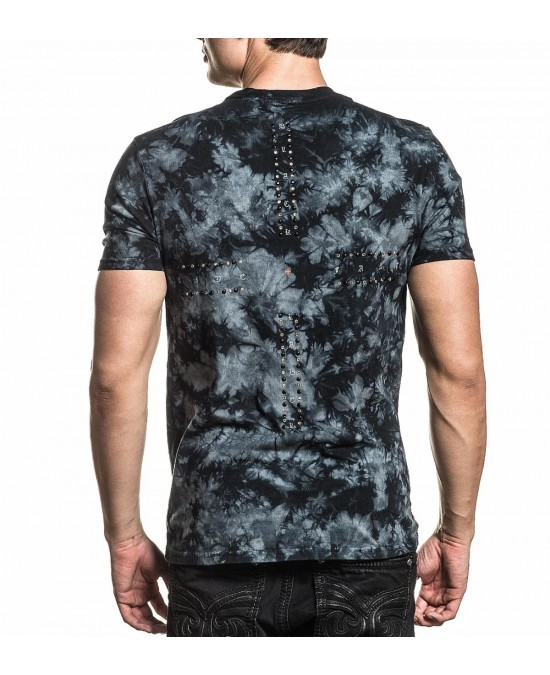 Affliction Forged in Obsidian S/S Tee/футболка мужская
