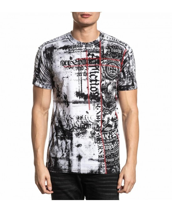 Affliction Road Crew S/S Tee