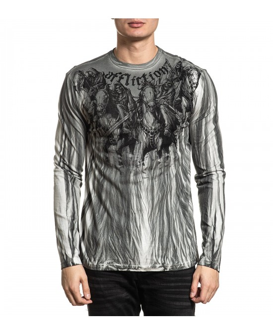 Affliction Four Horseman Revival L/S Tee/футболка мужская