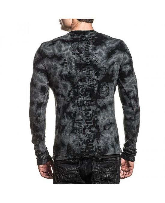 Affliction Moto Hellspeed L/S Thermal Tee/футболка мужская