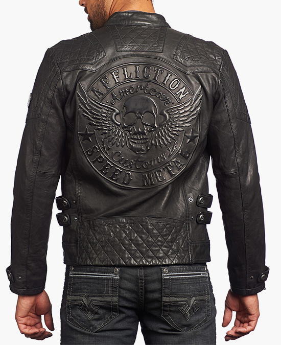 Affliction On Fire Jacket
