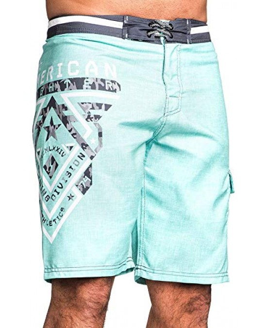 Affliction Crossroads Camo Boardshorts/шорты мужские