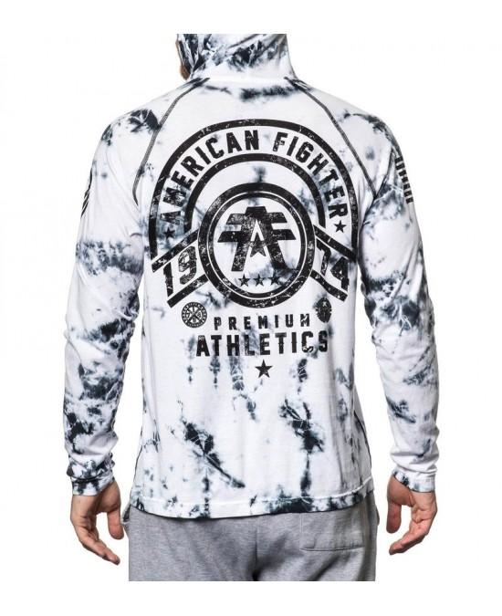 Affliction Allport L/S Raglan Hood Tee/футболка мужская