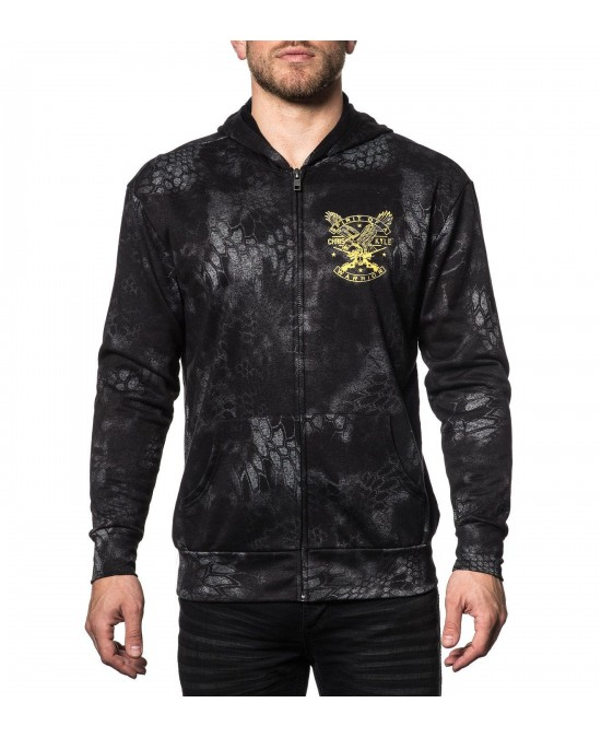 Affliction CK Freedom L/S Zip Hoodie