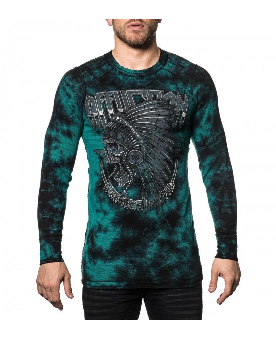 Affliction Last Stand Tour L/S Rev. Thermal Tee