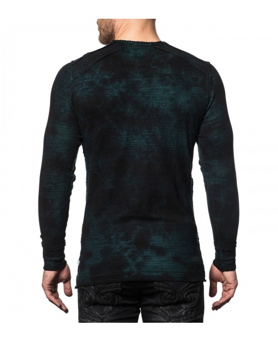 Affliction Last Stand Tour L/S Rev. Thermal Tee/футболка мужская