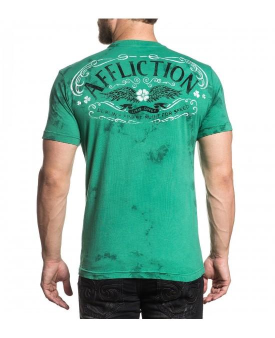 Affliction AC Dublin S/S Tee/футболка мужская