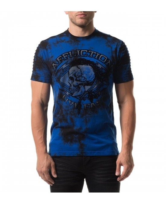 Affliction Warpath Chalkboard S/S Tee/футболка мужская