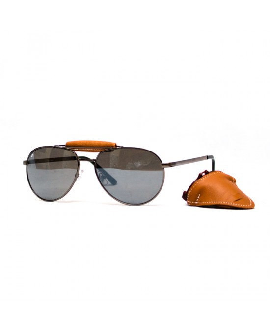 Baruffaldi Annapurna Base Cuoio Sil Smk F Montat Silv L.Skm Flash/очки
