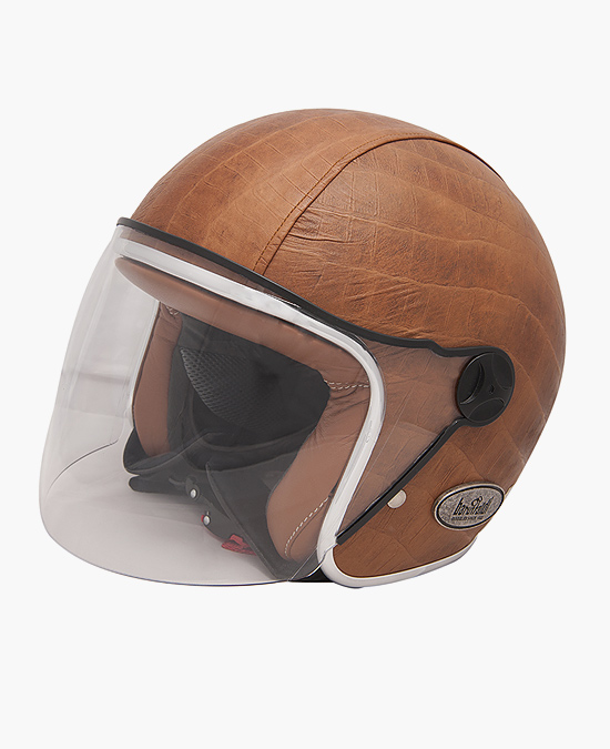Baruffaldi Zeon Vintage leather helmet