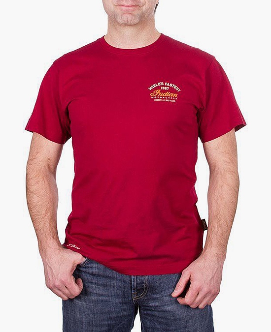 Indian Munro Speed Record T-shirt