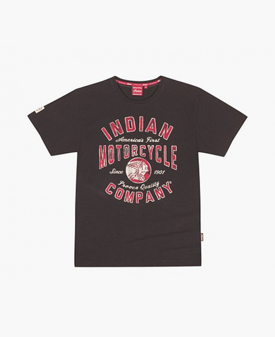 Indian IMC 16 Black Tee/футболка