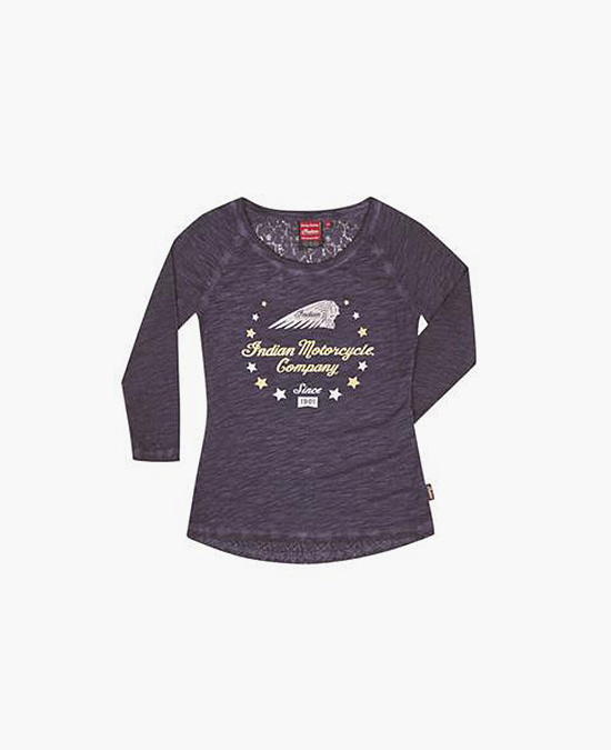 Indian Ladies Stars Wreath LS Tee