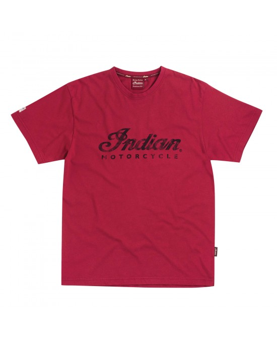 Indian Red Logo T-shirt/футболка