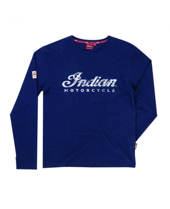 Indian Navy Logo L/S T-shirt/футболка