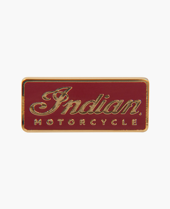 Indian Logo Pin Badge