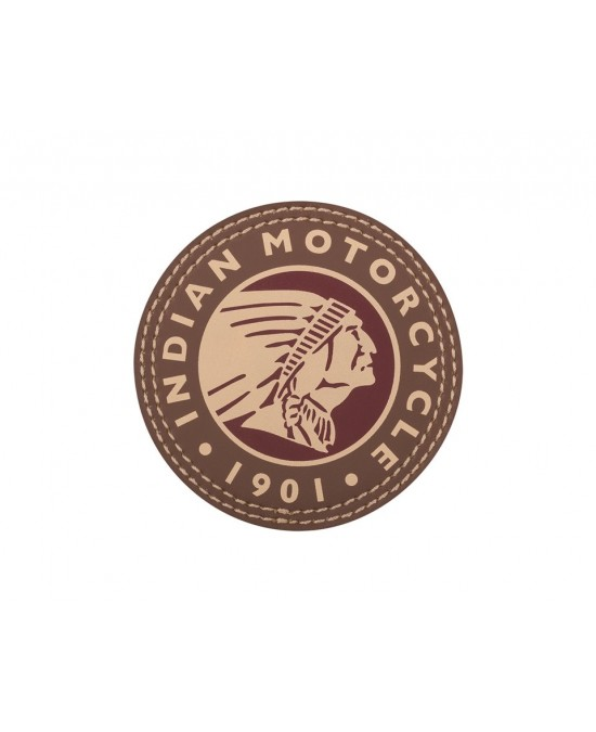 Indian Headdress Leather Patch/нашивка
