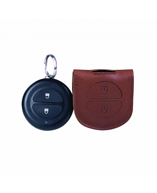 Indian Leather FOB Key Carrier