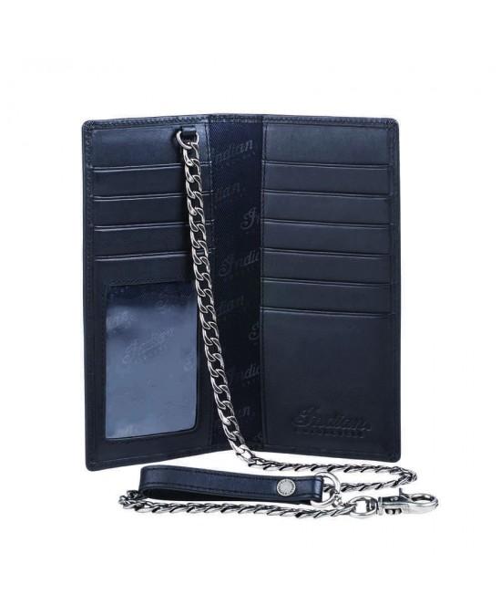Indian Biker Chain Wallet/бумажник кожаный