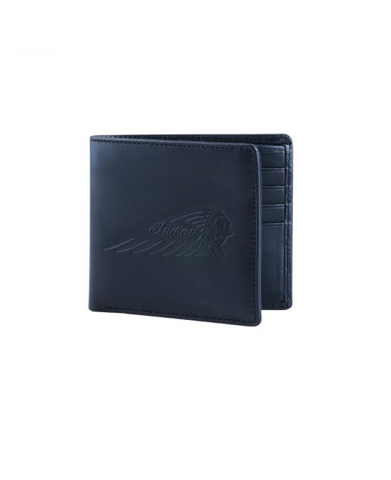 Indian Bi-Fold Wallet/бумажник кожаный
