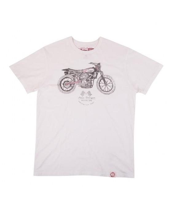 Indian 1901 Flat Track Bike Tee/футболка