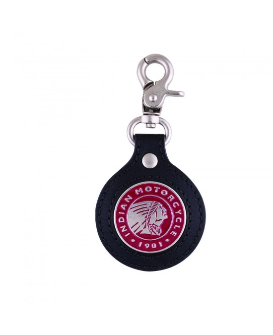 Indian Icon Leather Key Ring/брелок