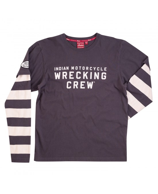 Indian Wrecking Crew L/S Tee/футболка