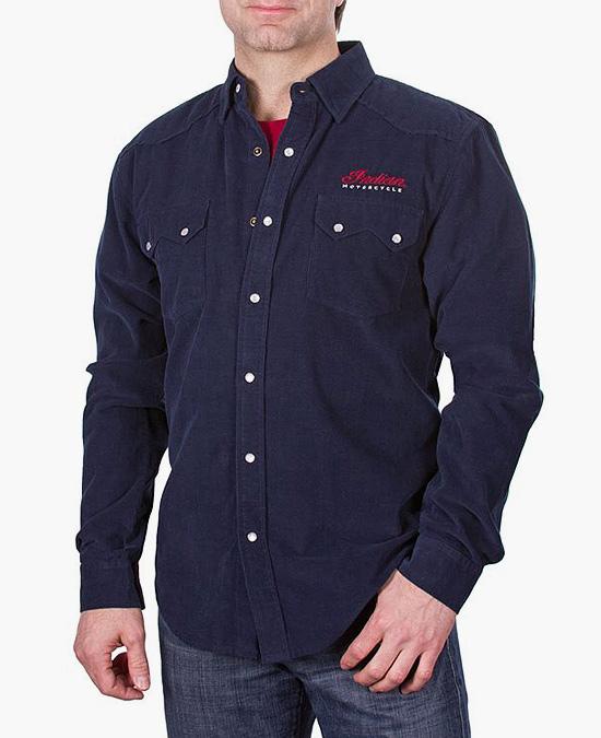Indian Pincord Shirt/рубашка