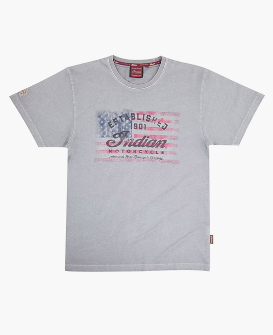 Indian 1901 Flag T-shirt