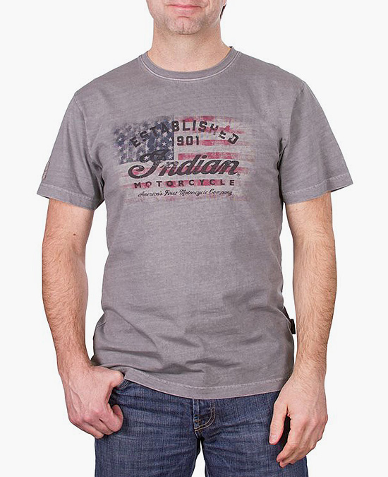 Indian 1901 Flag T-shirt/футболка