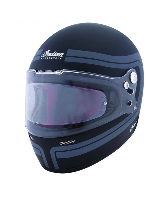 Indian Matte Stripe Full Face Helmet