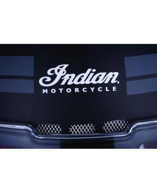 Indian Matte Stripe Full Face Helmet