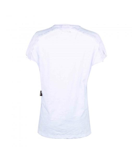 Indian Ladies Lace Shoulder Tee/футболка